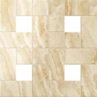 Supernova Onyx Honey Amber Mosaic Lap 45x45 (Супернова Оникс Хани Амбер Мозаика Лаппато 45x45)