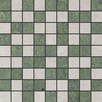 Mosaic Pietra Naturale Travertino Light Grey/Green 30х30 (Мозаика Пьетра Натурал Травертино Лайт Грей/Грин 30х30)