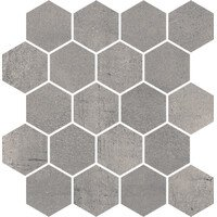 Space Grafit Mozaika Hexagon Mat 25.8x28 (Спейс Графит Гексагон Мат мозаика 25.8x28)