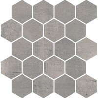 Space Grafit Mozaika Hexagon Pol 25.8x28 (Спейс Графит Гексагон Пол мозаика 25.8x28)