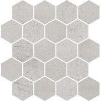 Space Grys Mozaika Hexagon Pol 25.8x28 (Спейс Грис Гексагон Пол мозаика 25.8x28)