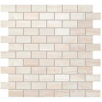 Supernova Onyx Pure White Brick Mosaic 30.5x30.5 (Супернова Оникс Пьюр Вайт Брик Мозаика 30.5x30.5)