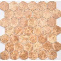 Emperador light MAT hex